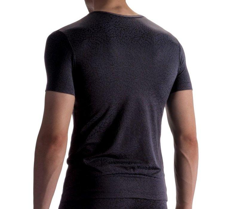 Olaf Benz  V-hals Shirt <zwart> ·PEARL1858·
