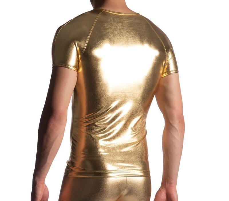 Manstore Brando Shirt <goud> ·M107·