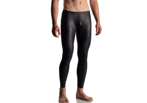 Manstore Manstore M510 Tight Leggings Soft Leather Look <black>