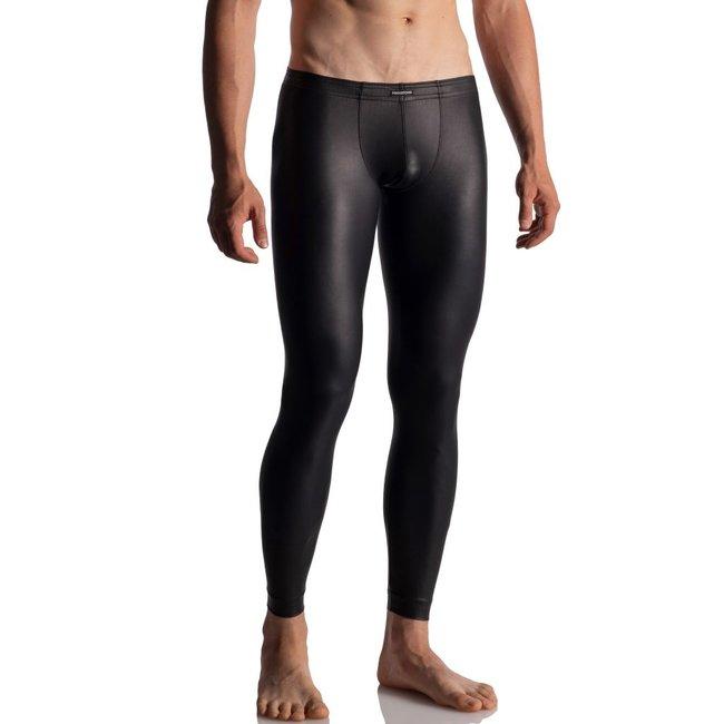 Manstore Tight Leggings Soft Leder-Look <zwart> ·M510·