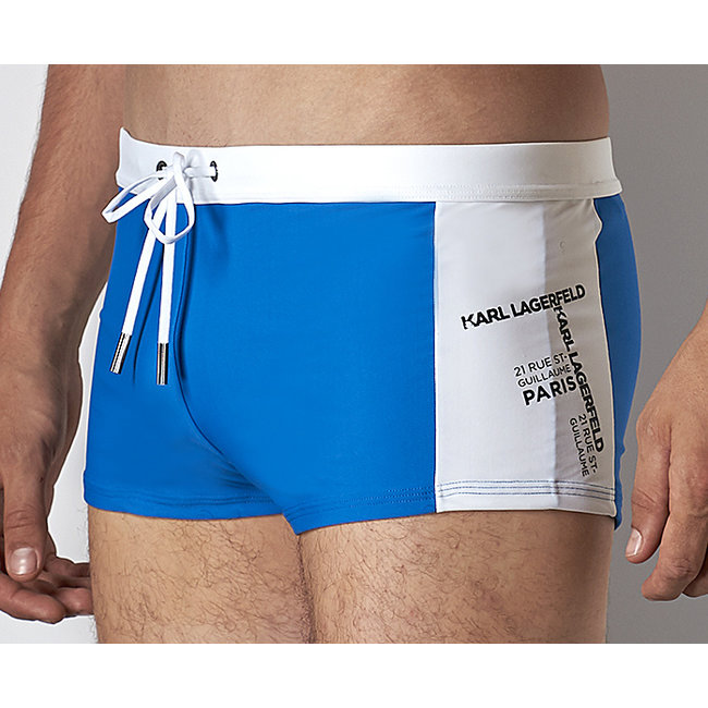 Karl Lagerfeld Beachwear Rue St. Guillaume Trunk <blue>