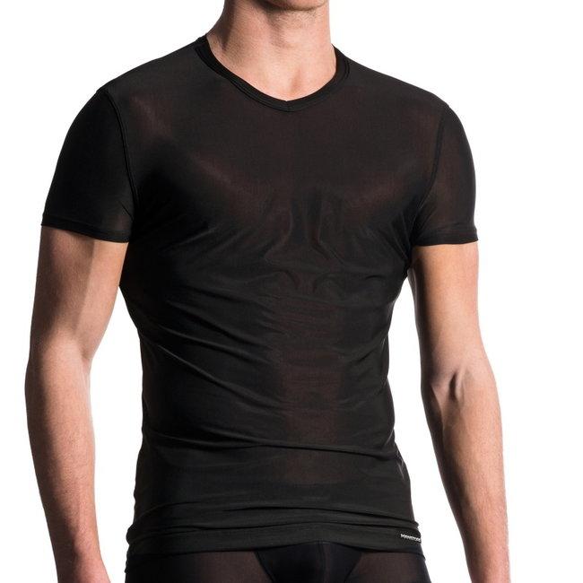 Manstore V-shirt classic <black> ·M101·