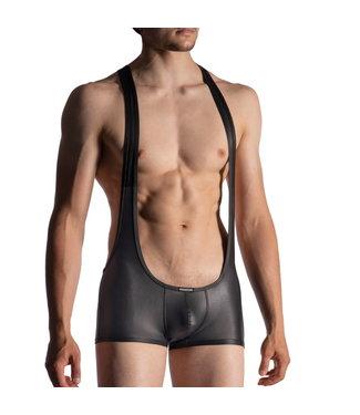 Manstore Manstore M510 Jock Body Leather Look <black>