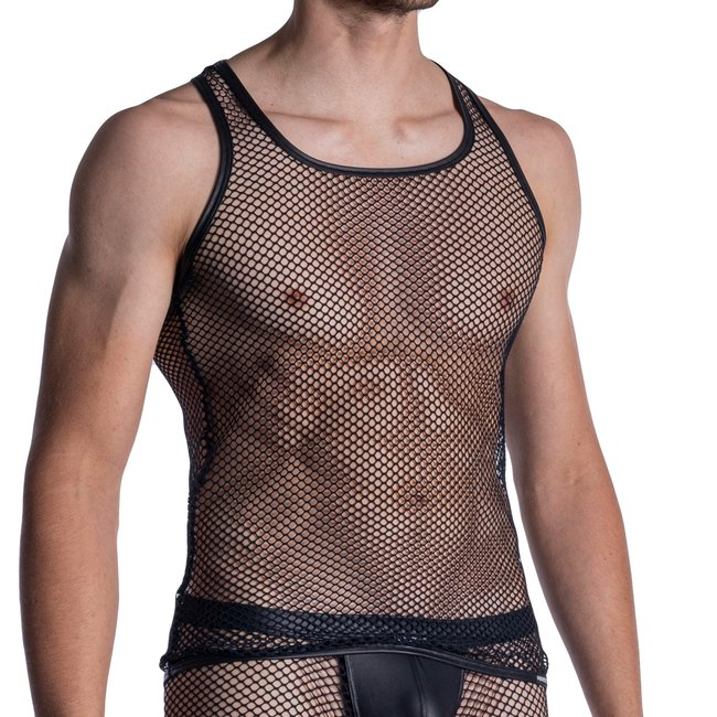 Manstore Manstore M964 Athletic Shirt <black>