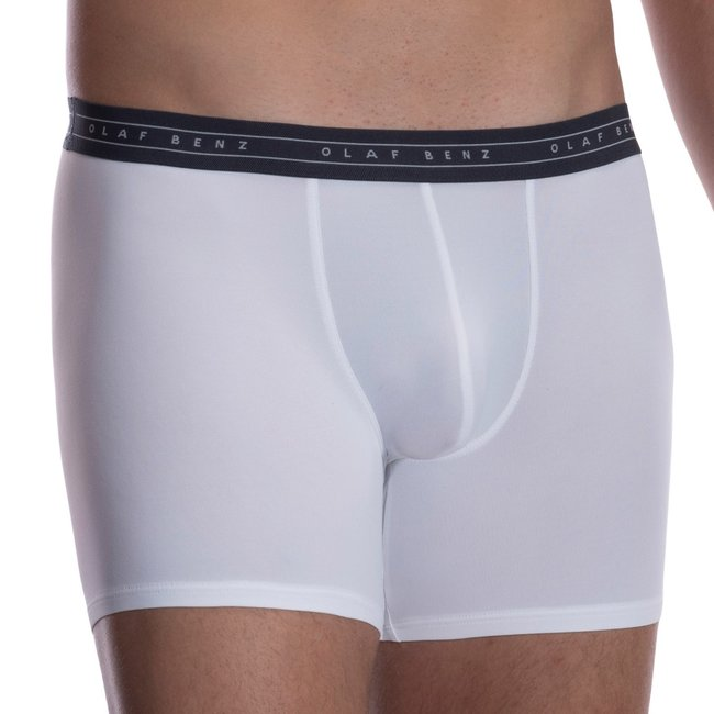 Olaf Benz Boxer (long) microfiber <white> ·RED2059·