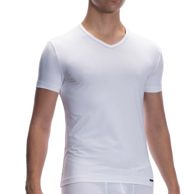 Olaf Benz V-shirt microfiber <white> ·RED2059·