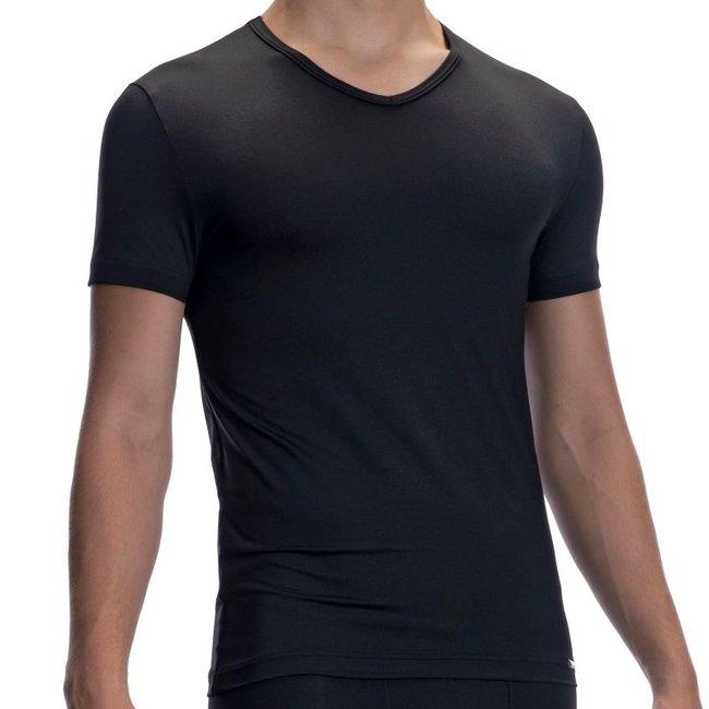 Olaf Benz V-shirt microfiber <black> ·RED2059·