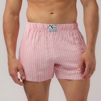 Adam Smith New York Adam Smith NY Relax Lounge short <pink stripe>