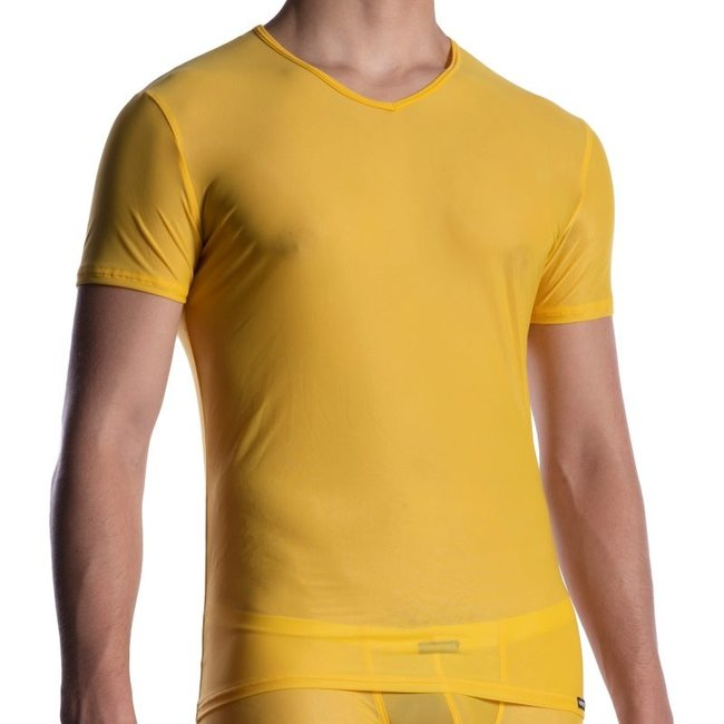 Manstore V-shirt <capri> ·M2056·