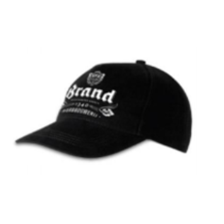 Brand Cap Zwart