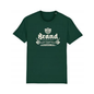Brand t-shirt (donkergroen)