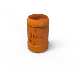 Brand theelichthouder (oranje)