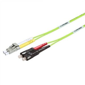 Glasvezel patchkabel 50/125 OM5 SC-LC 1meter