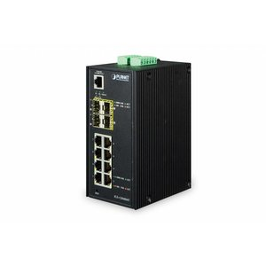 Planet 8 Port 10/100/1000T + 4 Port 100/1000X SFP Managed