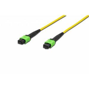 MPO patch cord, OS2/apc, Methode A, 10 meter