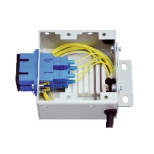 Mini DIN rail montagebox: SC