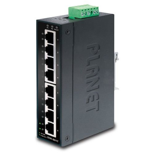 Planet 8 Port Industrial Fast Ethernet Switch
