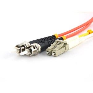 Fiber optic patch cord 62,5/125 OM1 LC-ST 7 meter