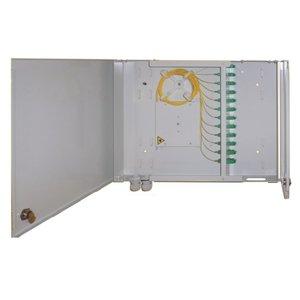 Glasvezel distributie wandbox: middel