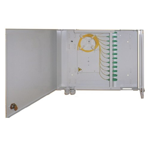 ODF fiber optic distribution wall box: middle