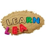 Learning resources Letters zandvorm