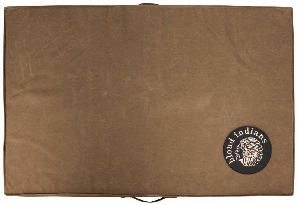 Blond Indians Pallet Cushion Muddy Brown Heavy Duty