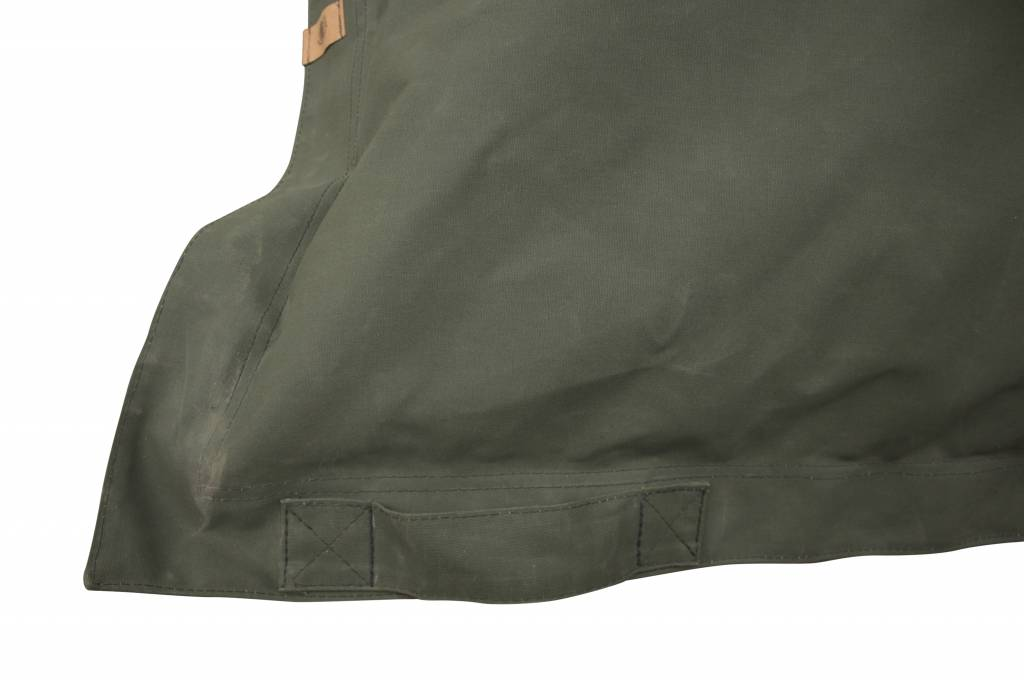 Blond Indians  Beanbag Large: Army Green Heavy Duty