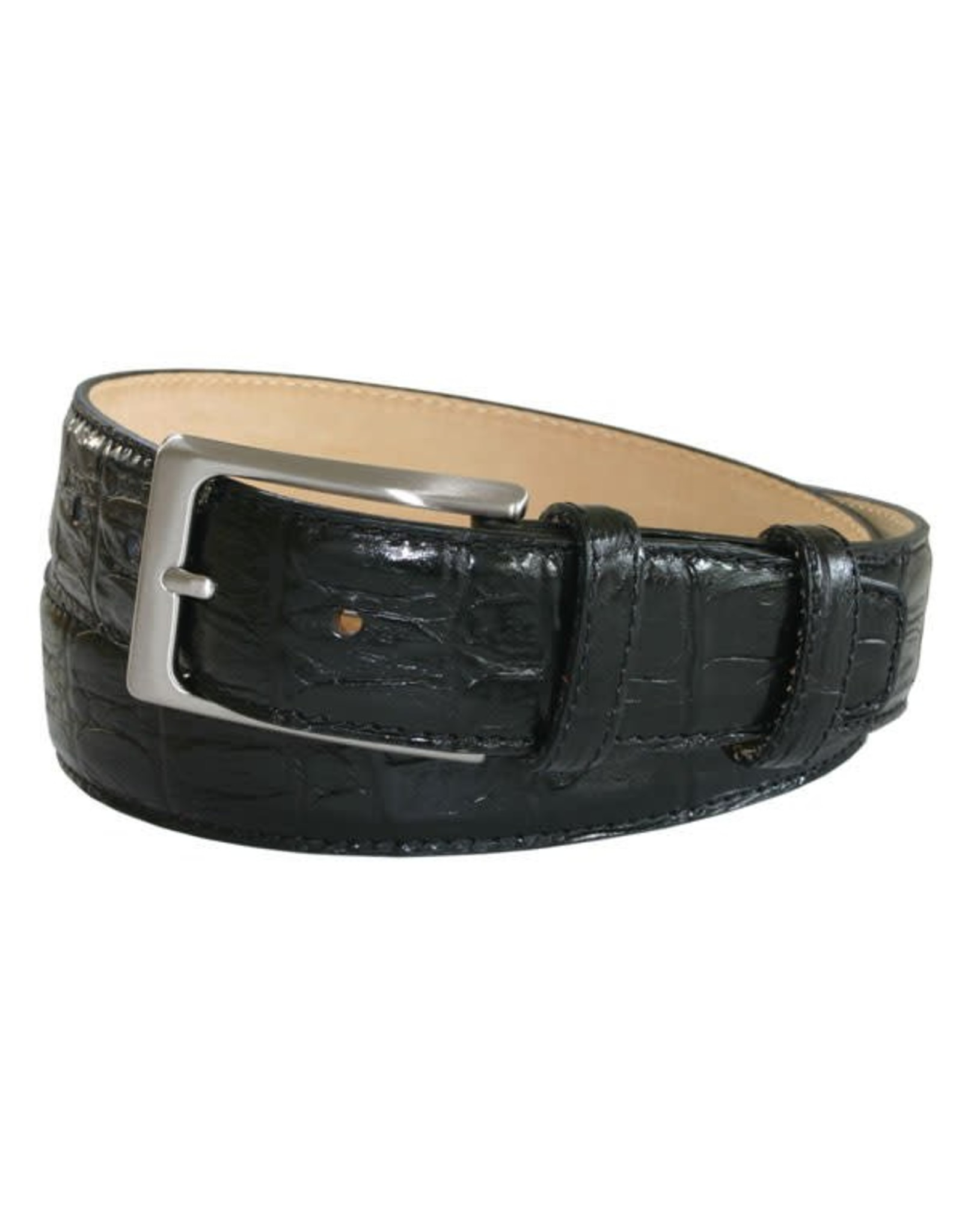 Robert Charles RC Black croc belt w16