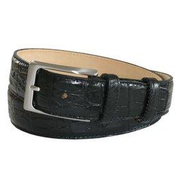 Robert Charles RC Black croc belt w16