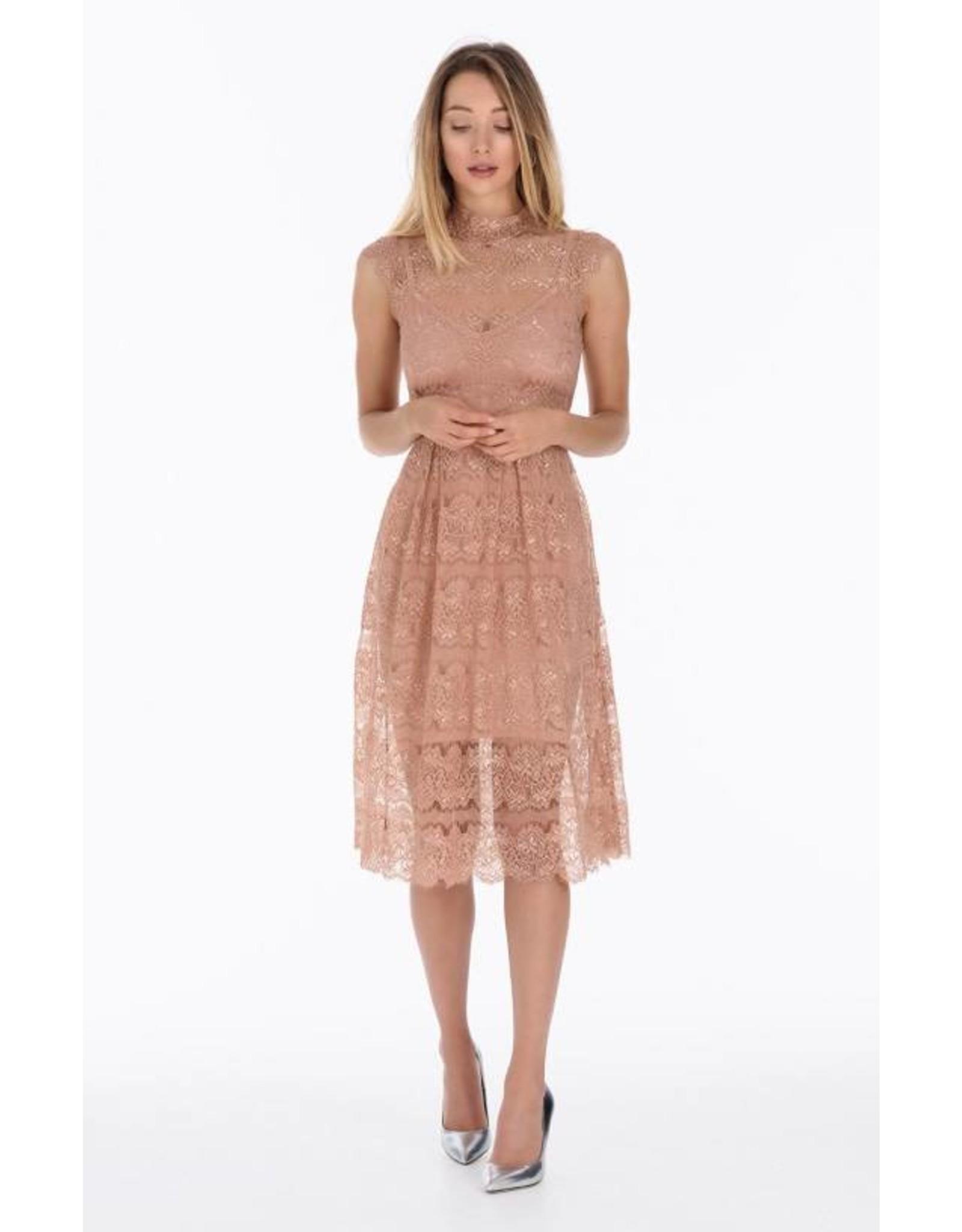 Body Frock Charlotte Peach Dress