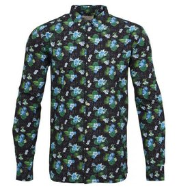 Knowledge Cotton Bright Print Shirt
