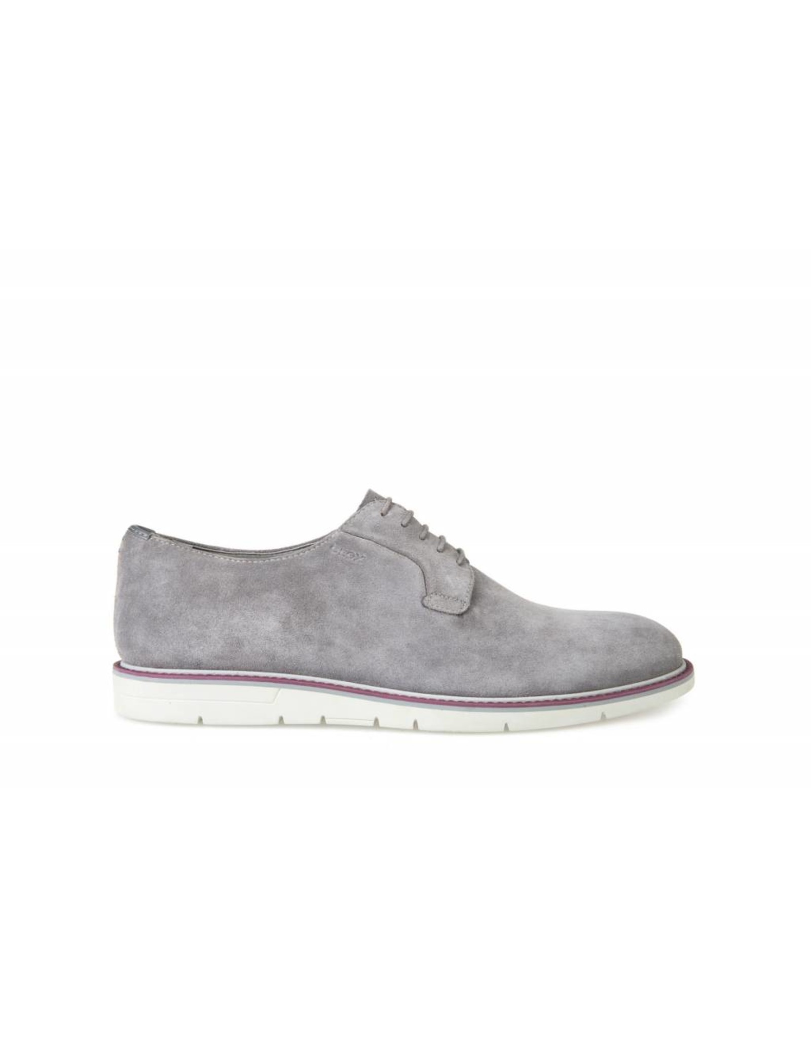 Geox Uvet Grey Suede Shoe