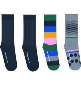 Knowledge Cotton Four Pack Socks
