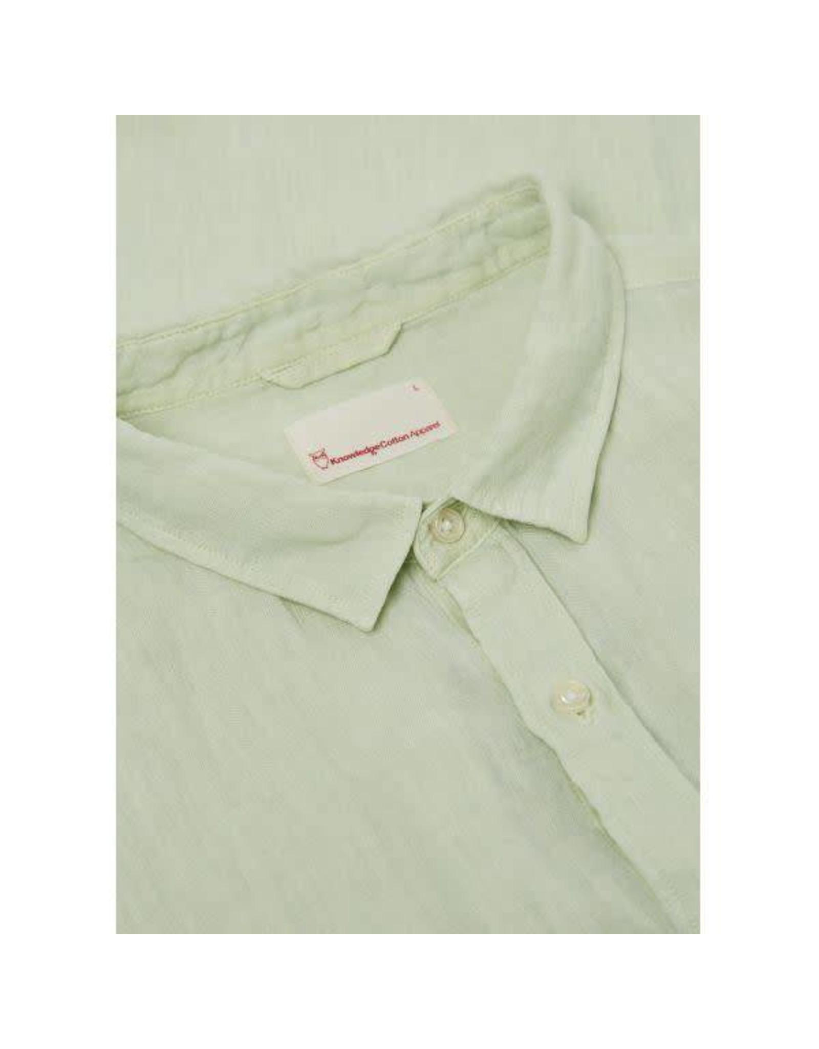 Knowledge Cotton Textured Shirt