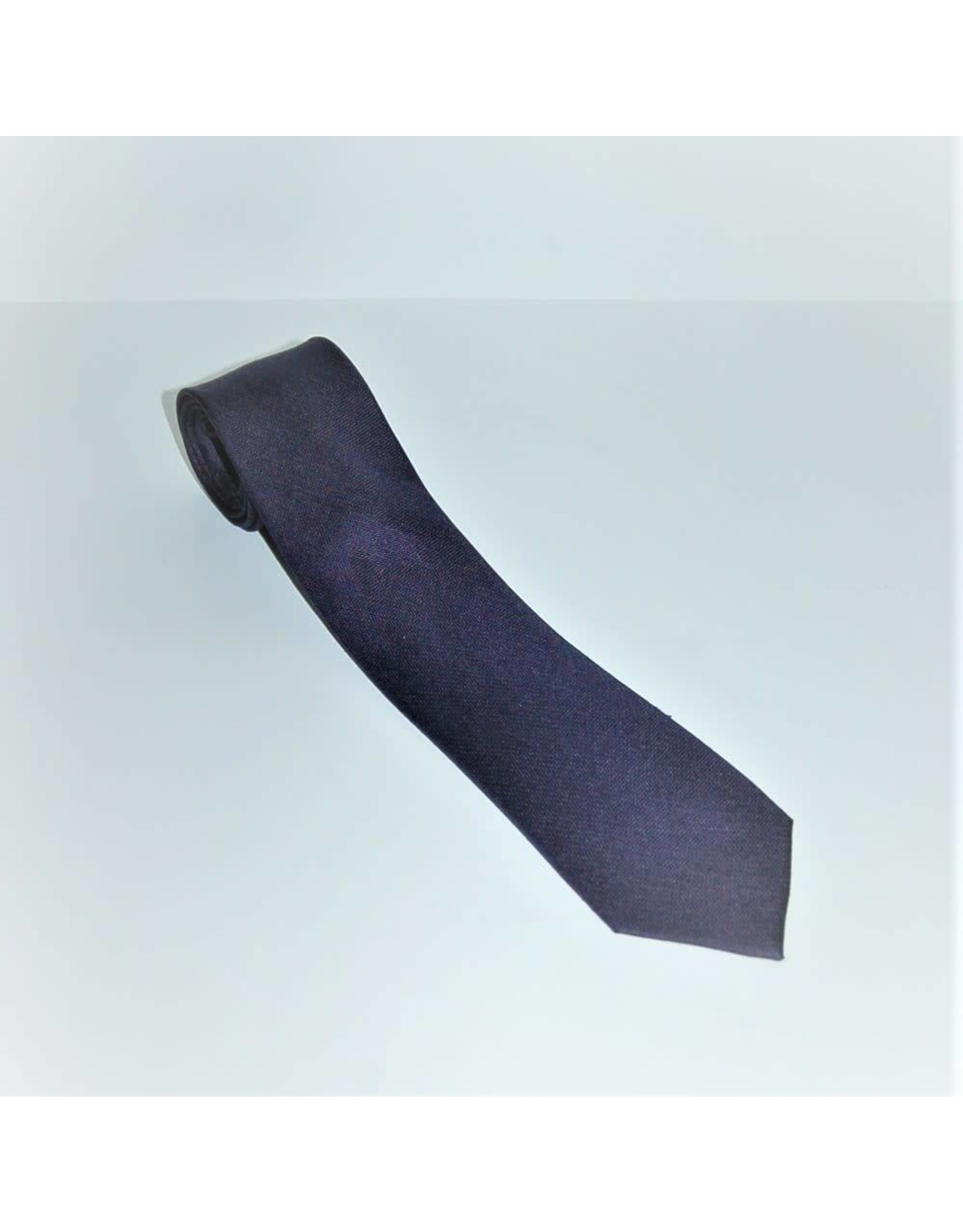 Amanda Christensen Plain Silk Tie