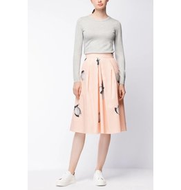 Boss Orange Bapinny Print Skirt