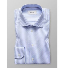 Eton Stripe Jacquard Slim Fit Shirt
