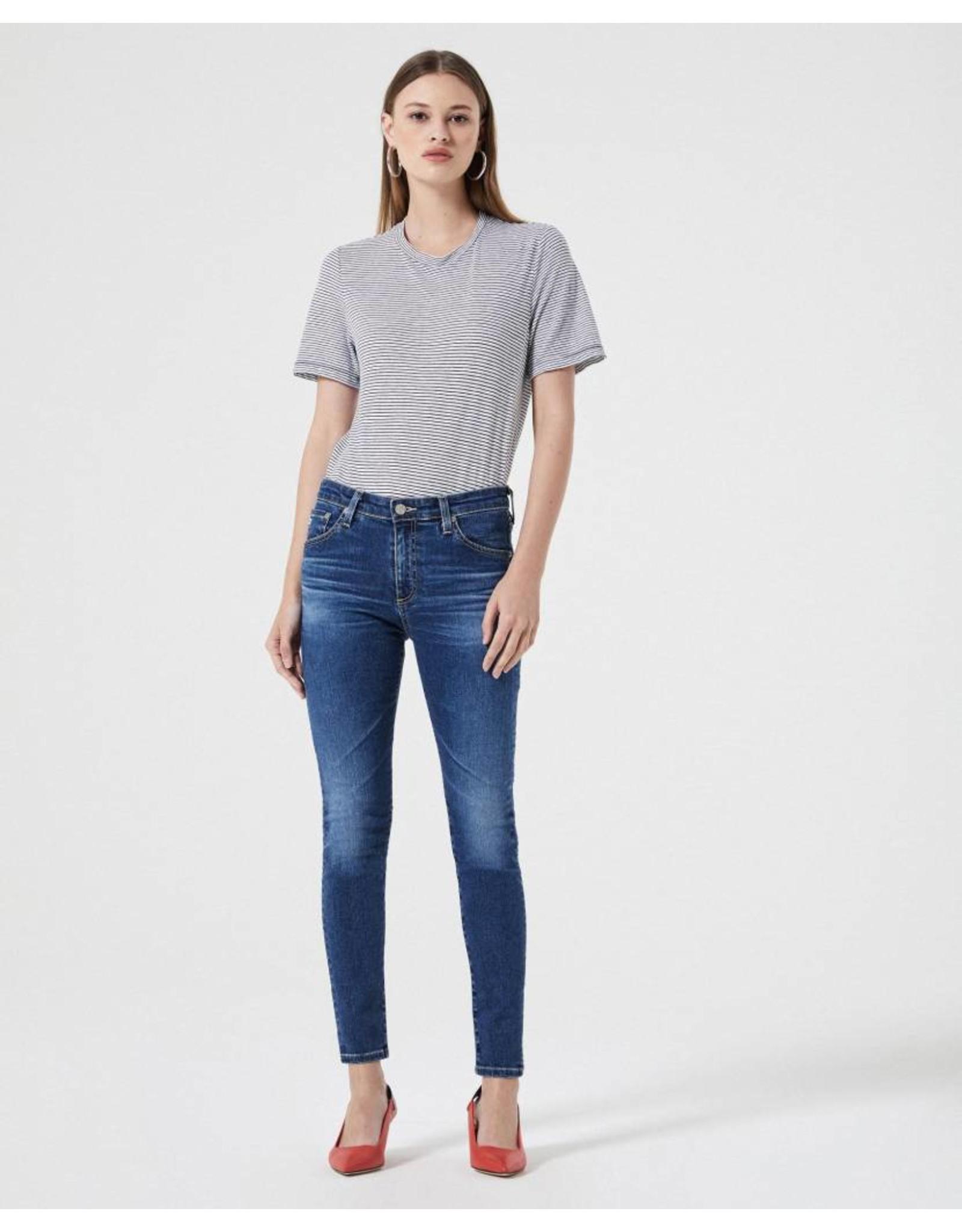 AG Farrah Skinny Side Slit Jean