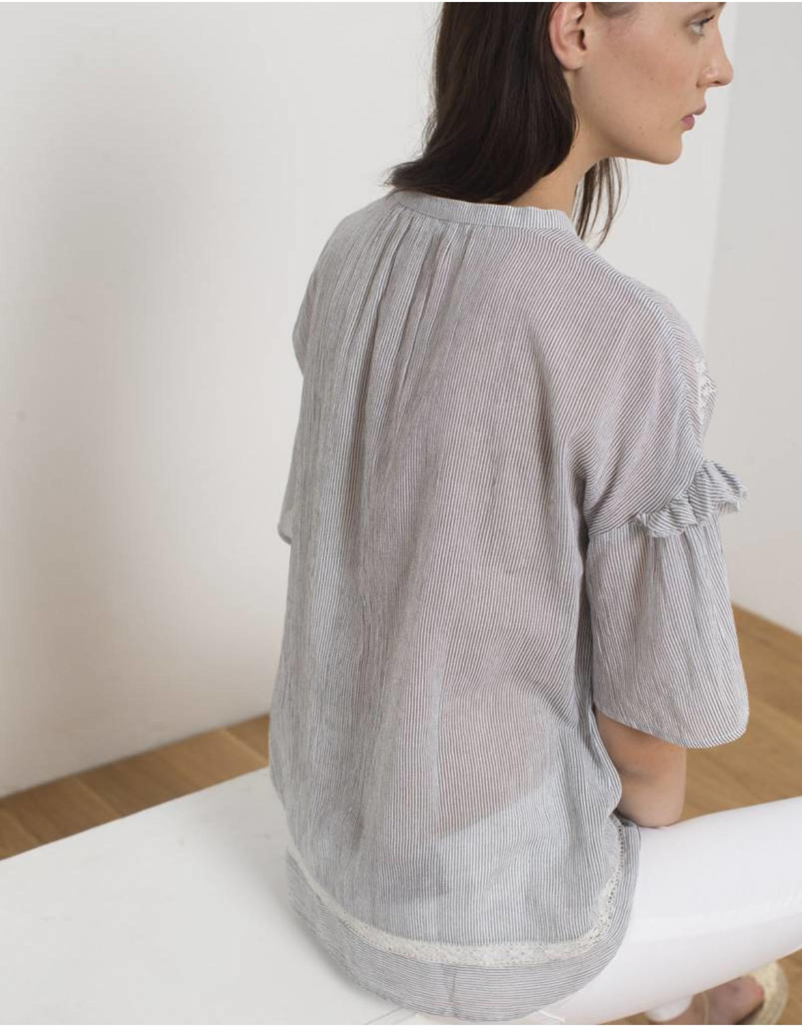 Sita Murt Stripe Voile Shirt