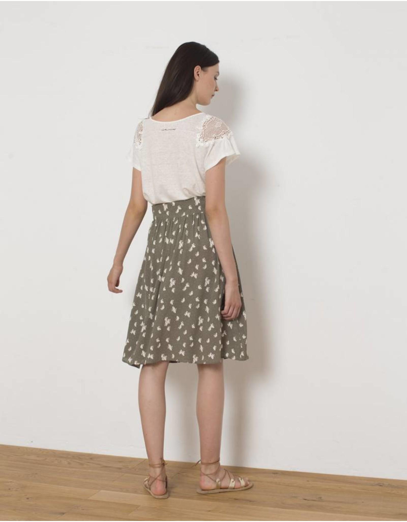 Sita Murt Linen Lace T