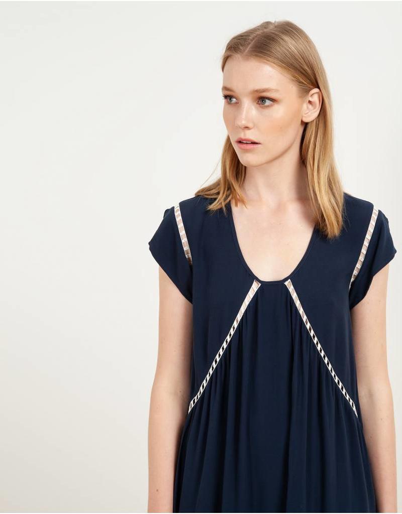 Sita Murt Ladder Stitch Dress