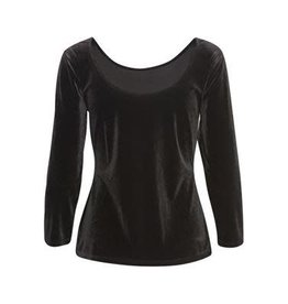 Part Two Nitt Velvet Top