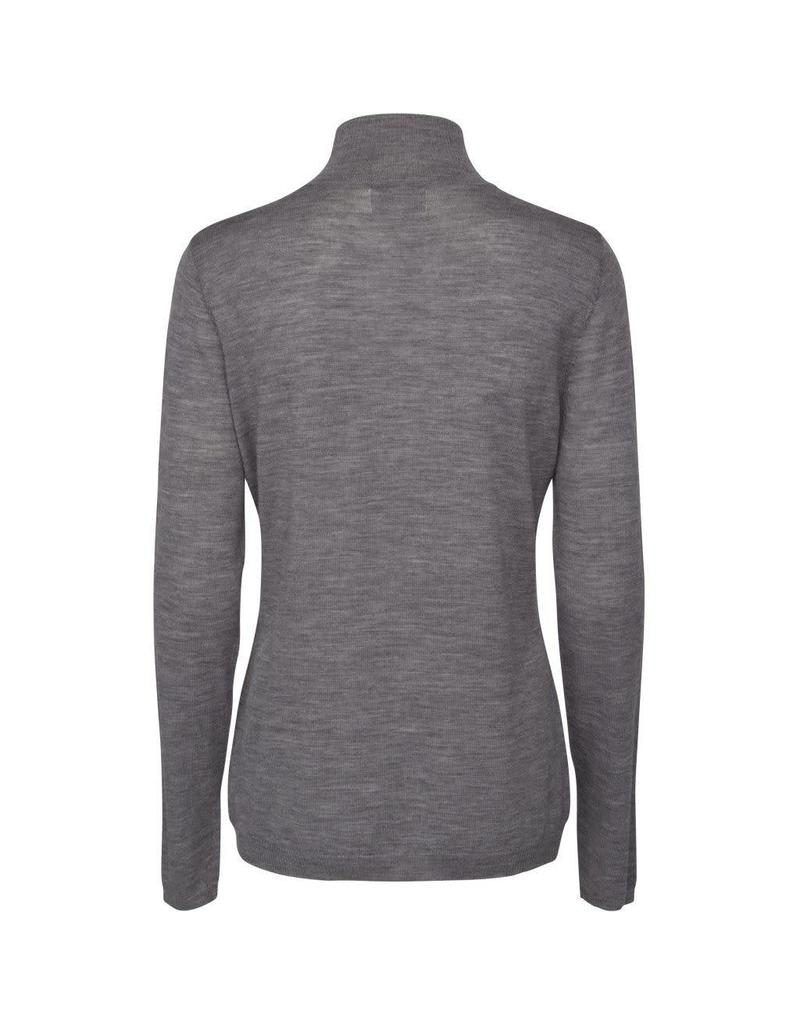 Minus Rose Roll Neck Grey