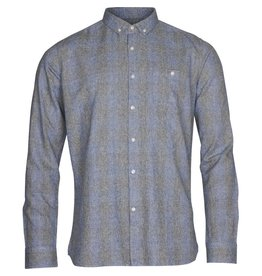 Knowledge Cotton Check Twill Shirt