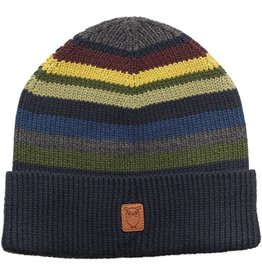 Knowledge Cotton Striped Beanie