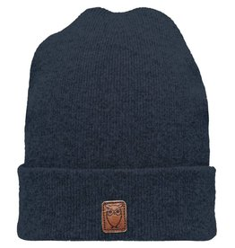 Knowledge Cotton Wool Beanie Navy