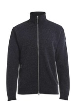 Holebrook Mans Windproof Cardigan Grey