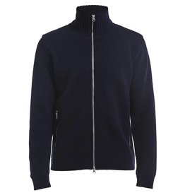 Holebrook Mans Windproof Cardigan Navy