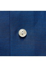 Eton Button Collar Shirt Blue