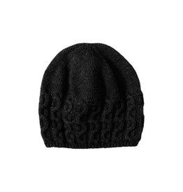 Unmade Cable Hat Black